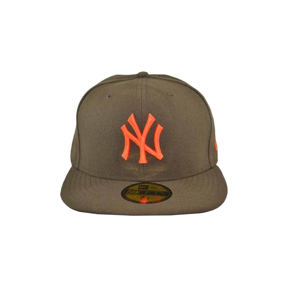 New Era Seascont MLB New York Yankees Cap - Brown Orange 5b91df886e9