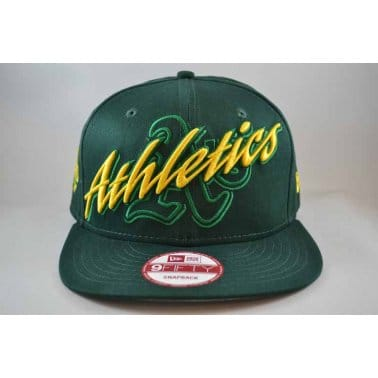 Wicked Oakland Athletics Snap Cap - Green