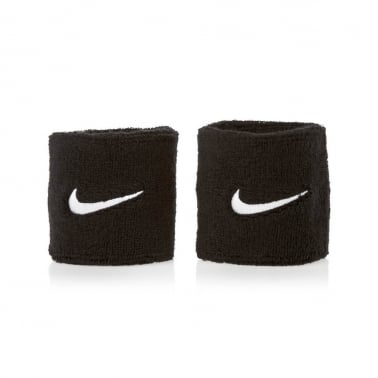 2swoosh Wristband Black