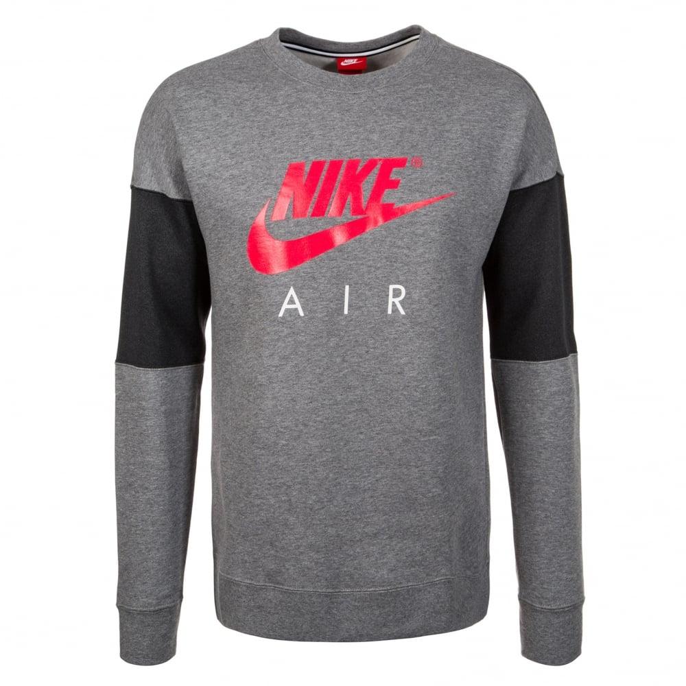 0d1f144c41c3 Air Crewneck Sweatshirt - Grey
