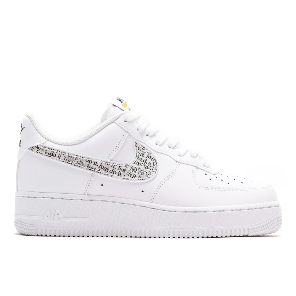 Nike Air Force 1 07 'Just Do It' WhiteWhite