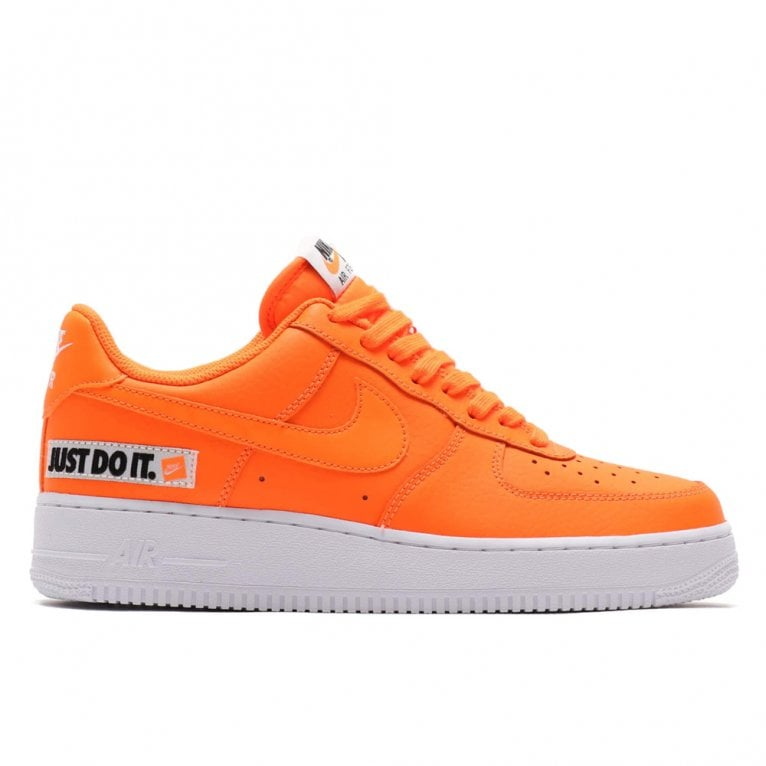 arriving to buy cheap prices Nike Air Force 1 LV8 'Just Do It' - Total Orange