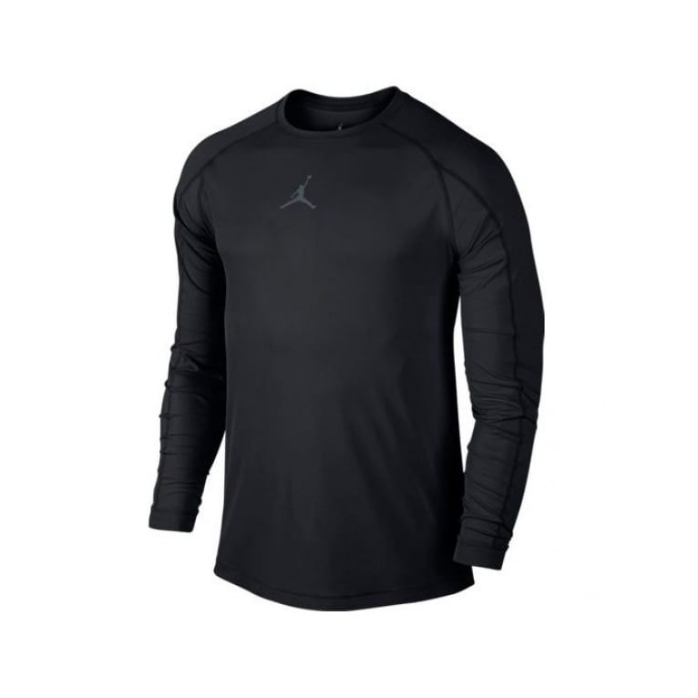 Jordan 23 Alpha LuxLong Sleeve T-shirt - Black/Grey
