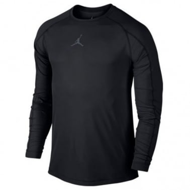 23 Alpha LuxLong Sleeve T-shirt - Black/Grey