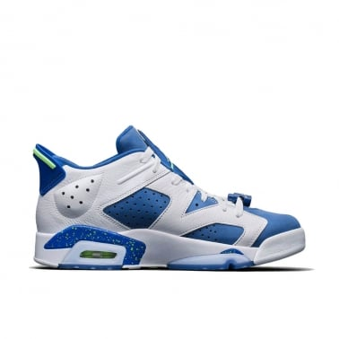 6 Retro Low - Insignia Blue/Ghost Green