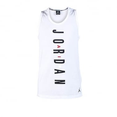 Air VI Tank Top - White