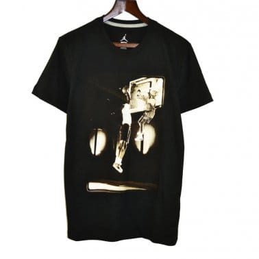 AJ III Photo Tee - Black