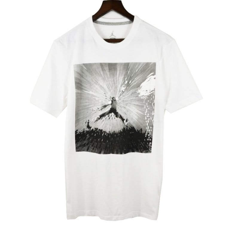Jordan Flight Remix Tee - White