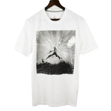 Flight Remix Tee - White