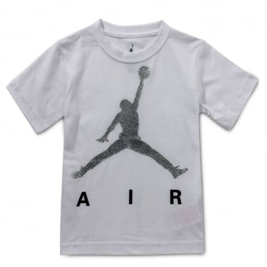Jumpman Air Tee - White