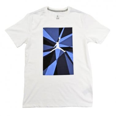 Jumpman Fragmented Tee - White