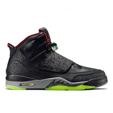 "Son of Mars ""Yeezy"" - Black/Cool Grey/Green Pulse/Gym Red"