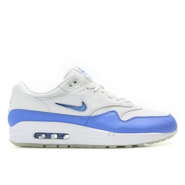 Air Max 1 Premium Jewel 'University Blue' - White/University Blue