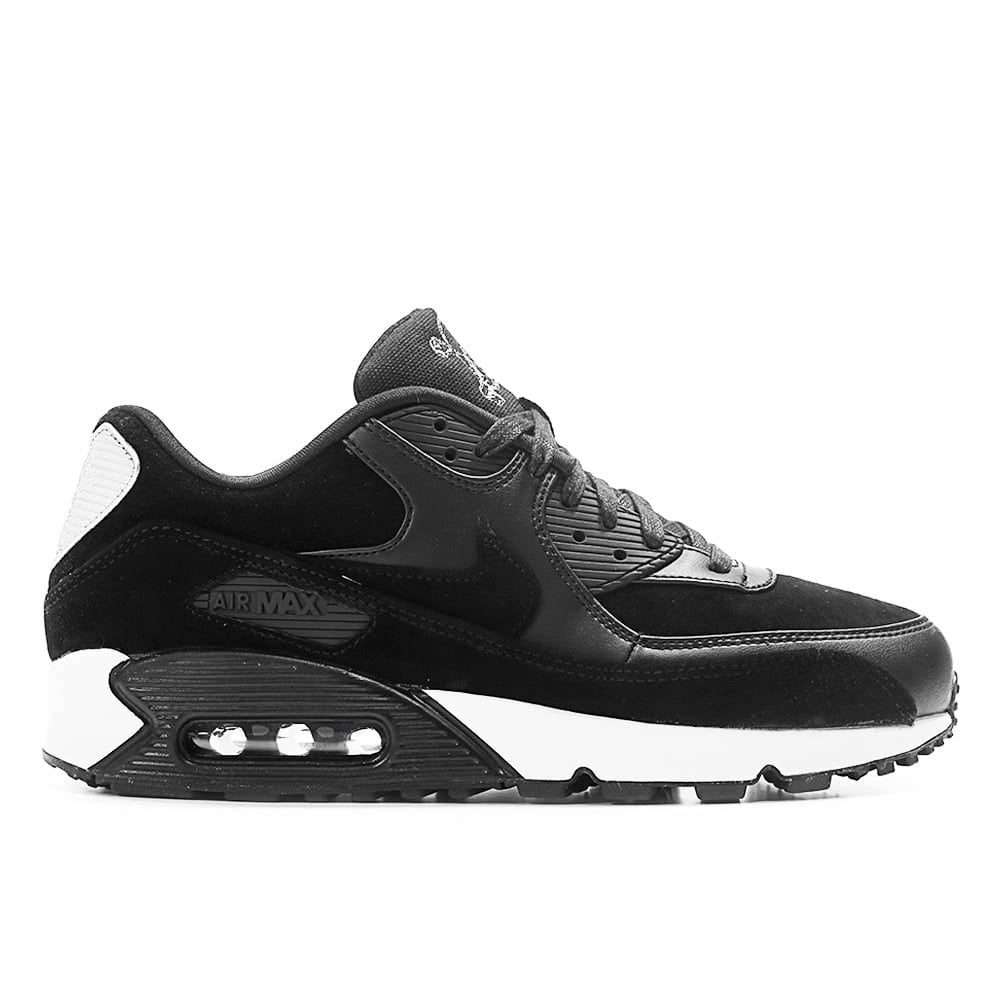 bas prix 1d666 32ec2 Nike Air Max 90 Premium 'Rebel Skull' - Black/Chrome