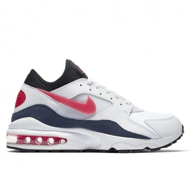 Air Max 93 - White/Habanero Red