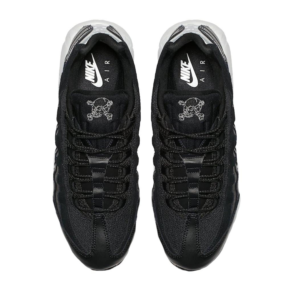 cheap for discount eb3ab 1a5f3 Nike Air Max 95 Premium 'Rebel Skull' - Black/Chrome