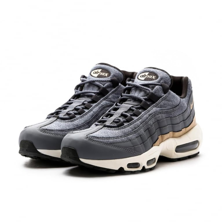 official photos 4a893 8b023 Nike Air Max 95 Premium 'Wool Pack' - Grey/Mushroom