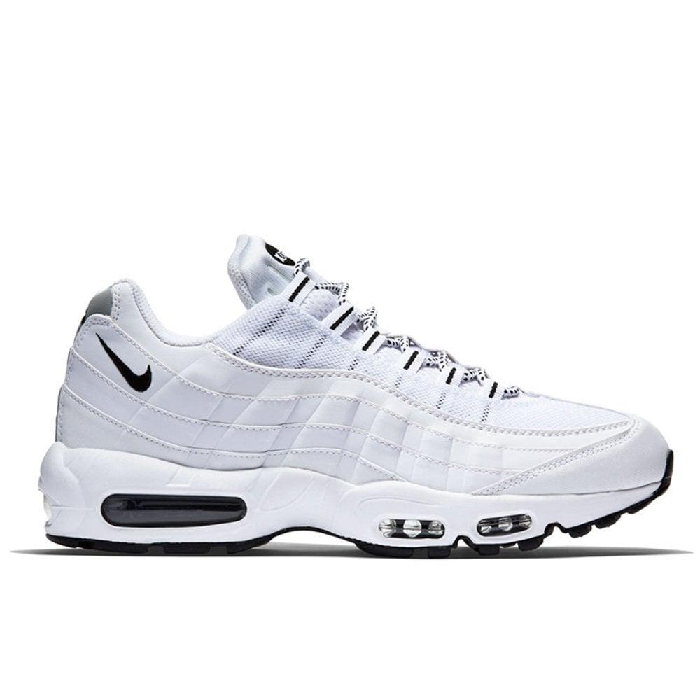 separation shoes 5761d bea34 Nike Air Max 95 - White/Black