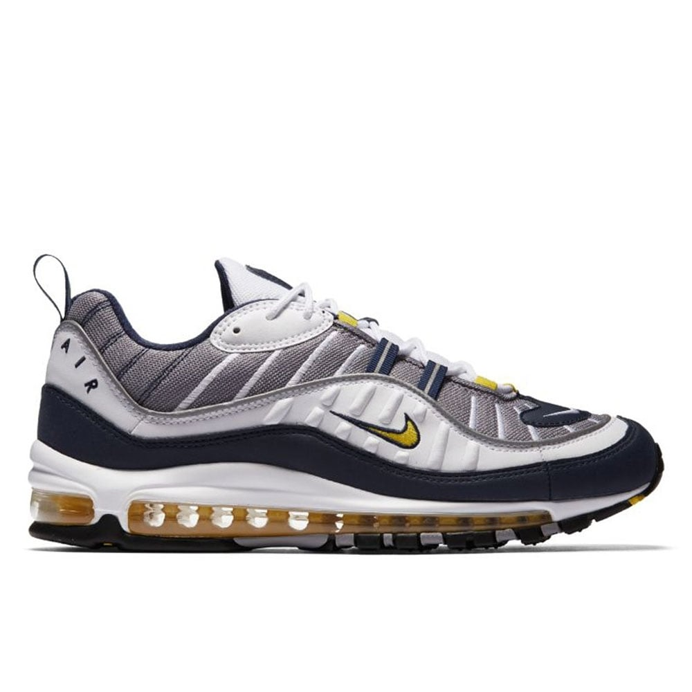 2f80abd0e5b Air Max 98 OG - White Tour Yellow