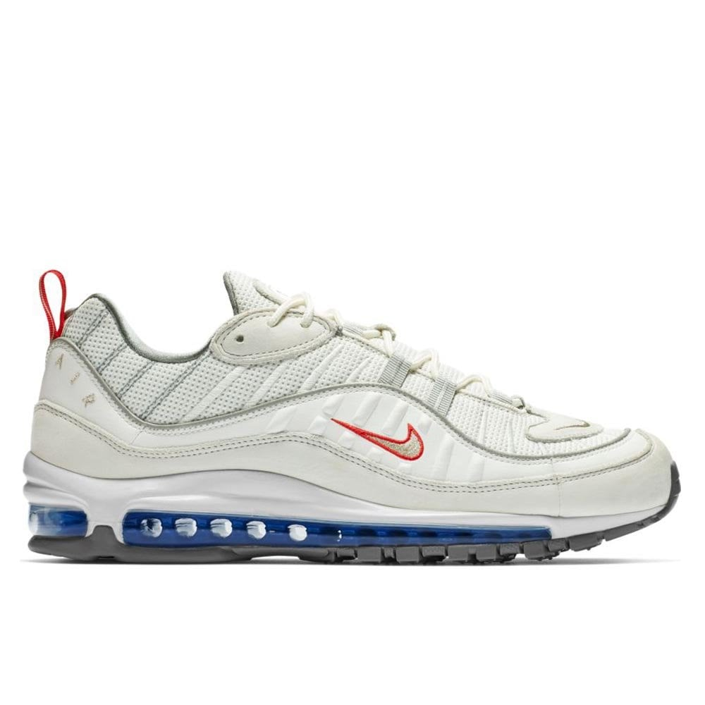 new design best website look good shoes sale Air Max 98 - Summit White/Blue