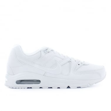 Air Max Command Leather - White/White
