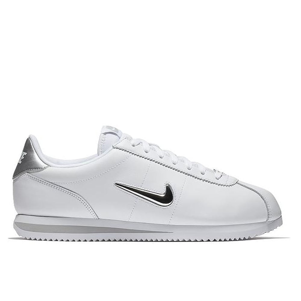 Cortez Jewel - White/Metallic Silver