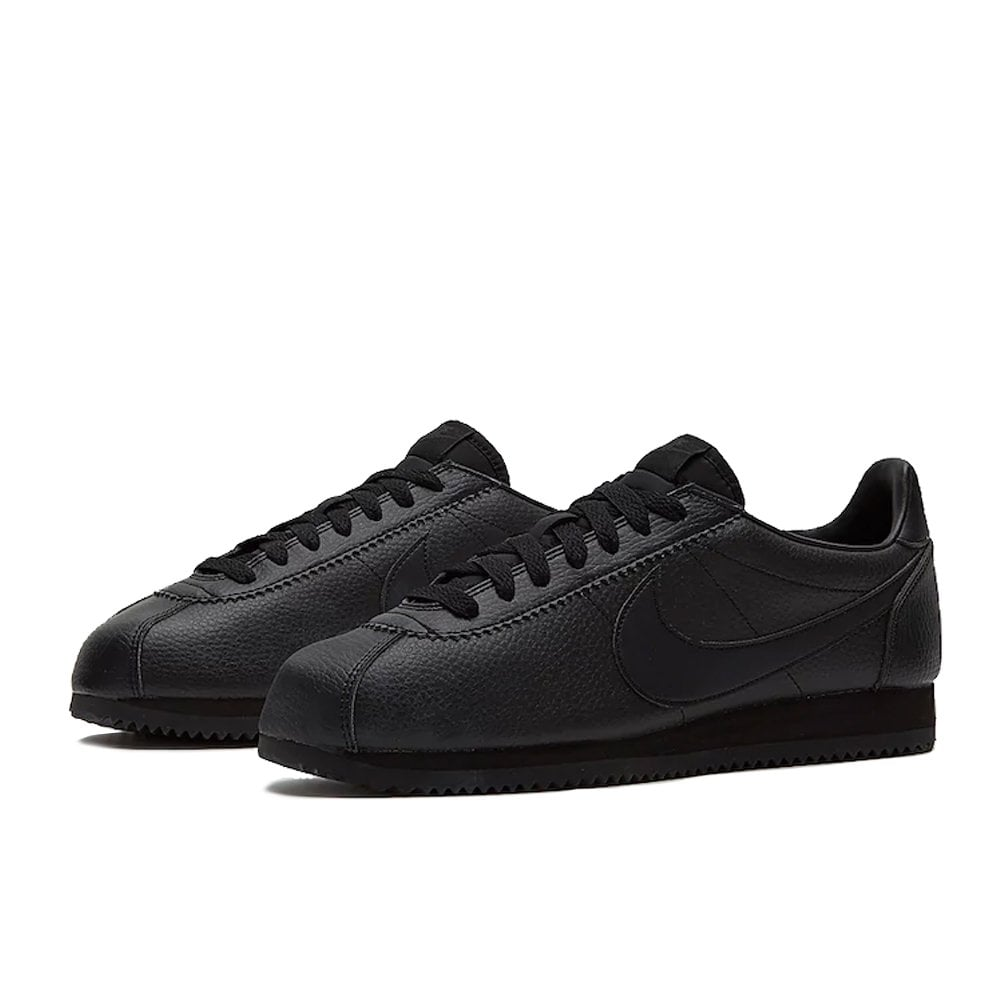 sports shoes e4bfe 31d51 Nike Cortez Leather - Black/Black