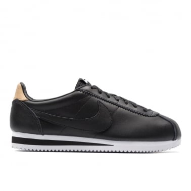 Cortez Leather SE - Black/Black