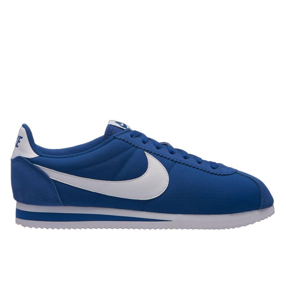 newest 0c196 046b7 Nike Cortez Nylon - Blue/White