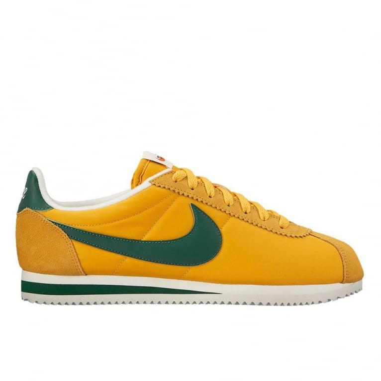 tout neuf d75e6 f4bfc Nike Cortez Nylon Premium 'Oregon' - Yellow