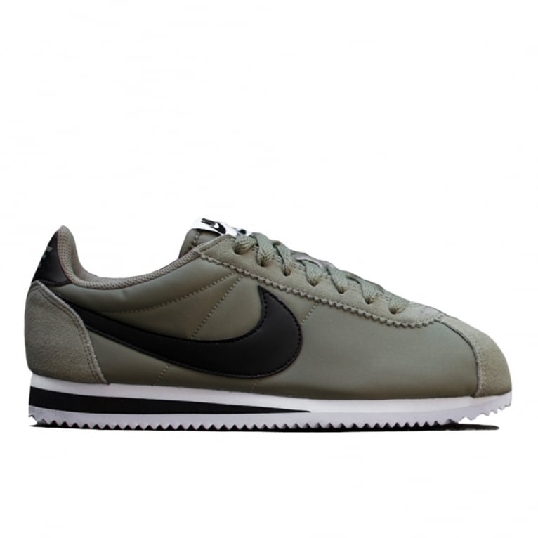 buy online a4abe c06d5 Cortez Nylon - Trooper Green Black
