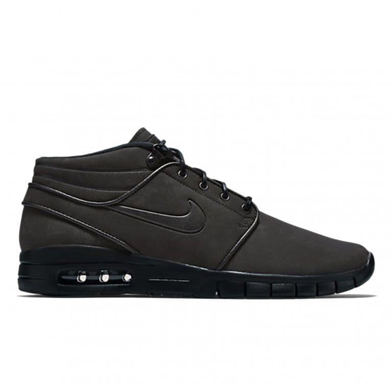 Nike Janoski Max Mid Leather - Black/Black