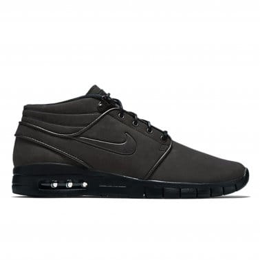 Janoski Max Mid Leather - Black/Black