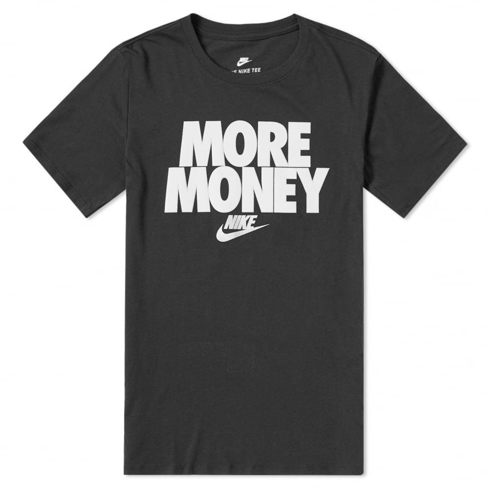 Nike More Money T-Shirt - Black