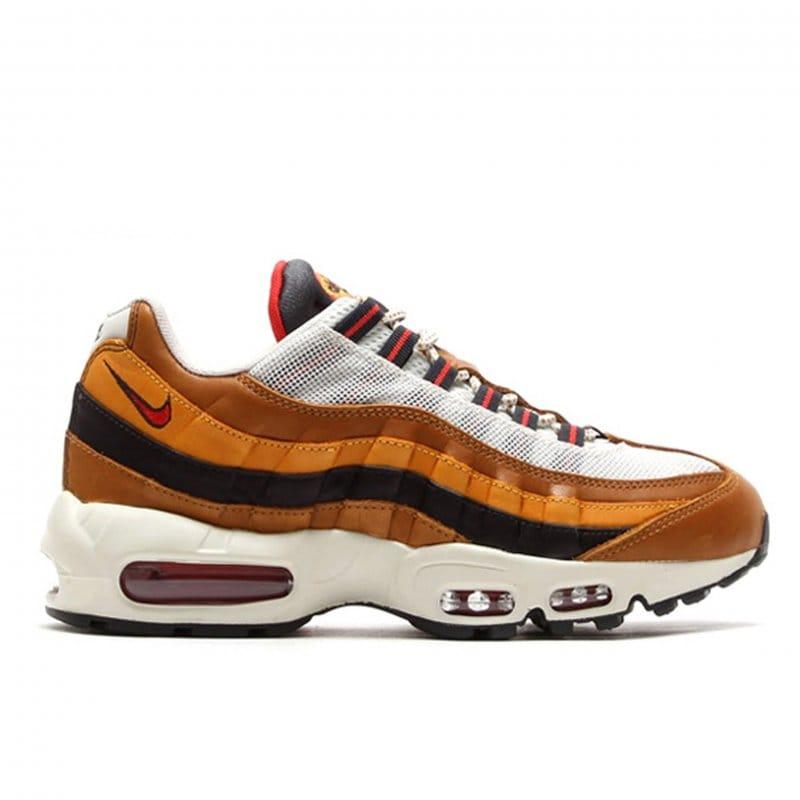 air max 95 brown white shoes