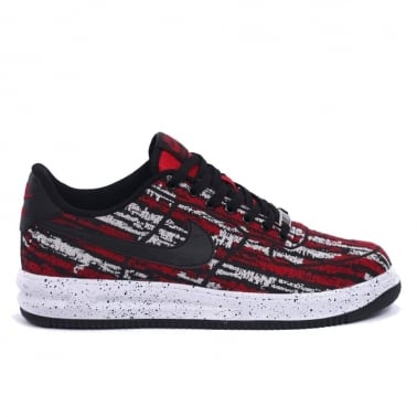 "QS Lunar Air Force 1 ""Jacquard"" - Gym Red/Black"