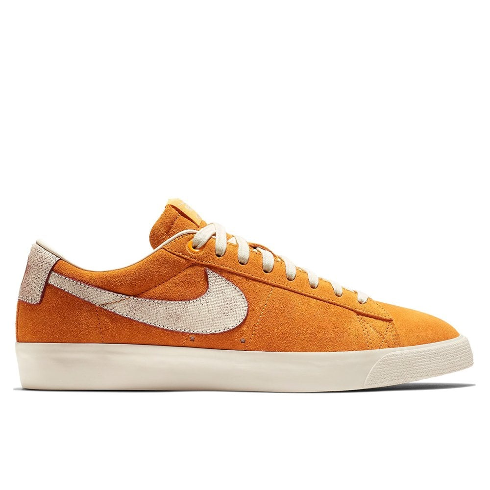size 40 07a08 40078 Nike SB Blazer Low GT 'Bruised Peach' - Orange/Natural