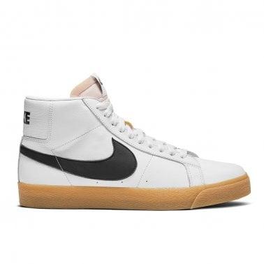 378047804 Blazer Mid Iso  Orange Label  - White Black New In. Nike SB ...