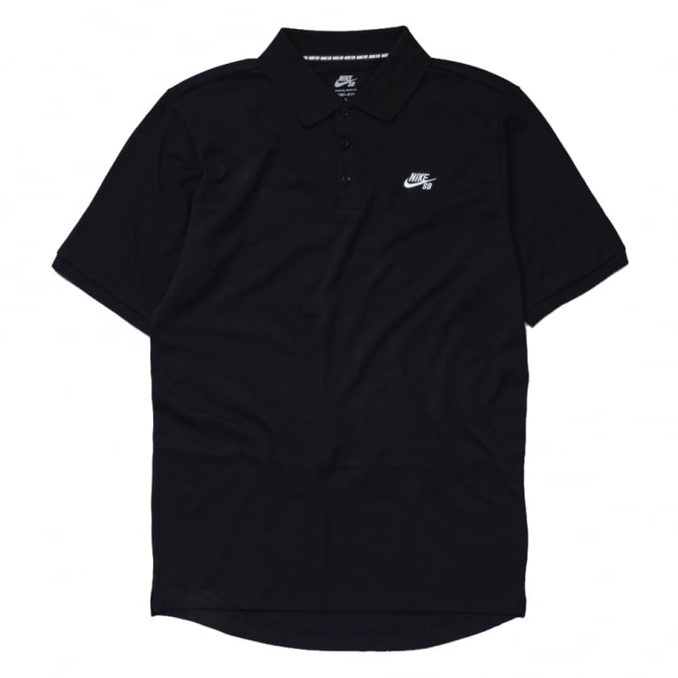 Nike SB Dri-Fit Pique Polo - Black