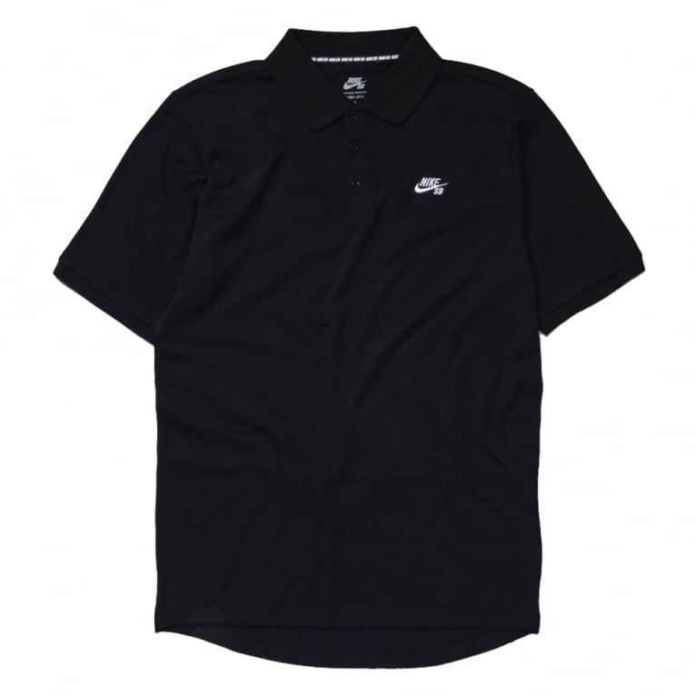 Nike SB Dri-Fit Pique Polo - Black
