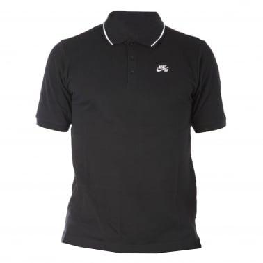 Dri-Fit Polo Shirt - Black/White