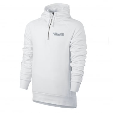 Dry-Fit Everett Hood - White/Wolf