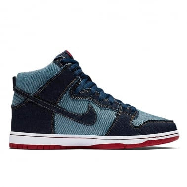Dunk Hi Denim 'Reese Forbes' - Midnight Navy