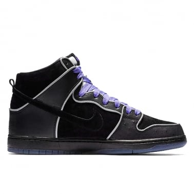 Dunk Hi Elite 'Purple Box' - Black/Black/Purple