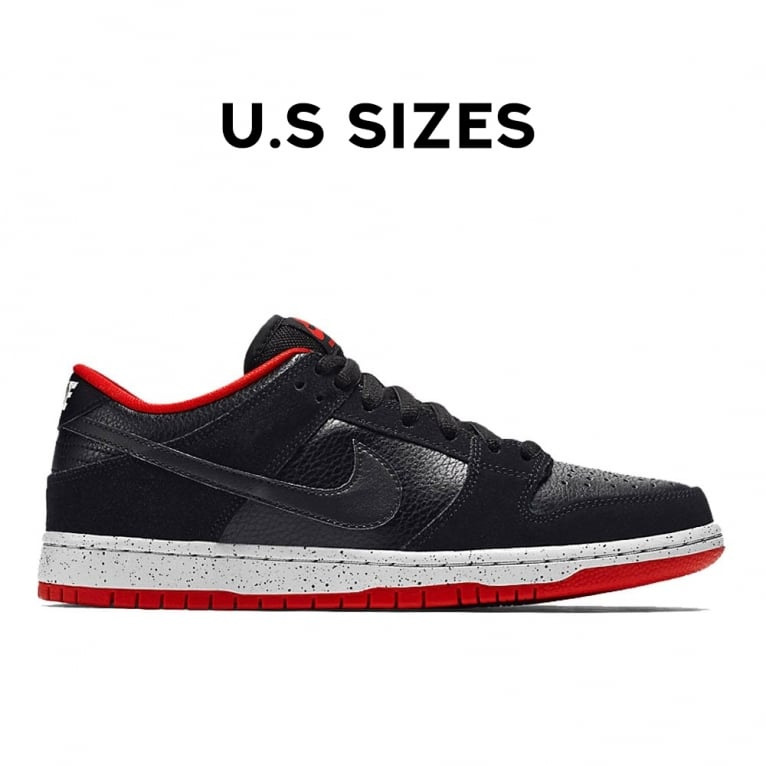 Nike SB Dunk Low Pro - Black/Cement
