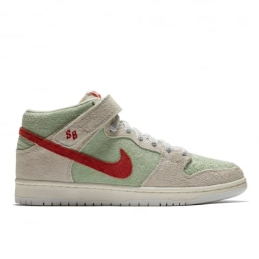 Dunk Mid Pro QS 'White Widow' - Sail/Gym Red