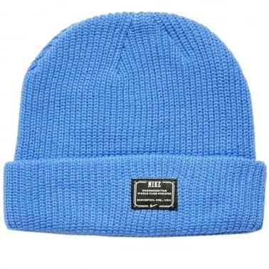 Fisherman Beanie - Blue