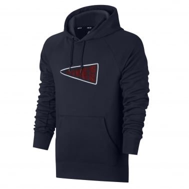 Icon Banner Hoodie - Obsidian