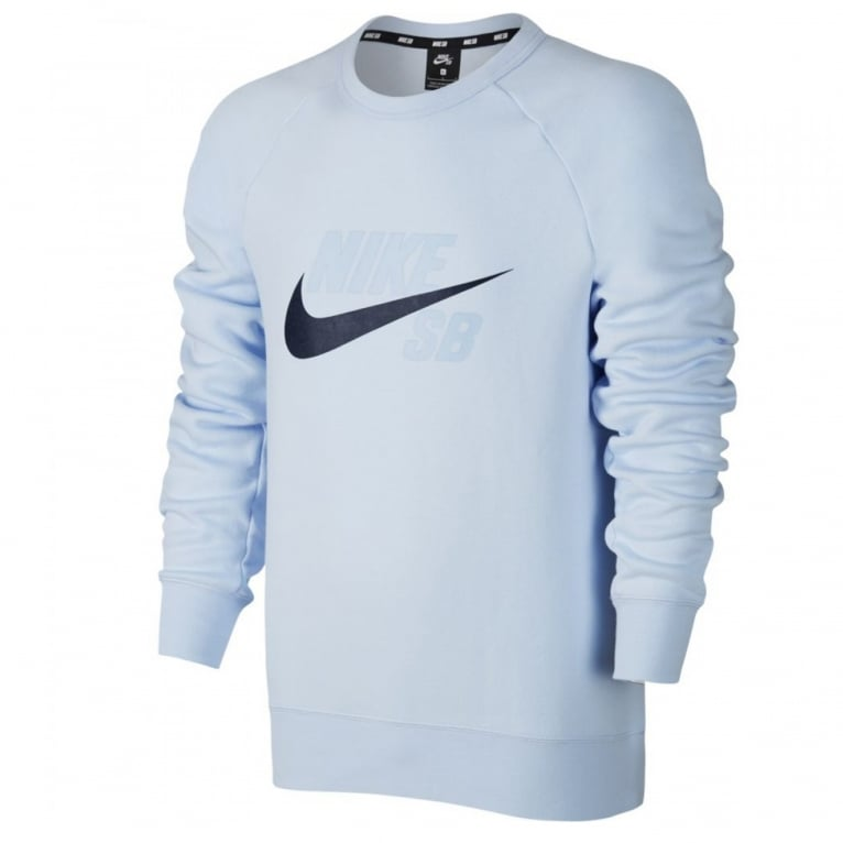 Nike SB Icon Crewneck Sweatshirt - Hydro Blue