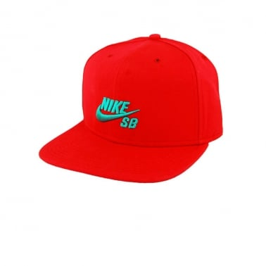 Icon Snap Back Hyper Red